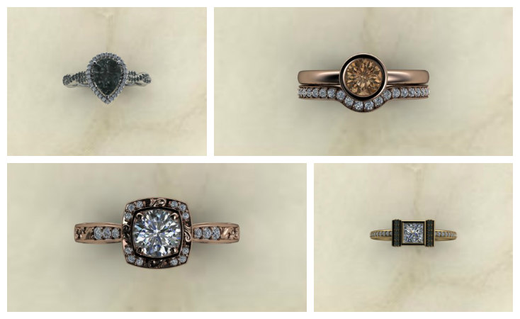 Engagement Rings - Honey Designs