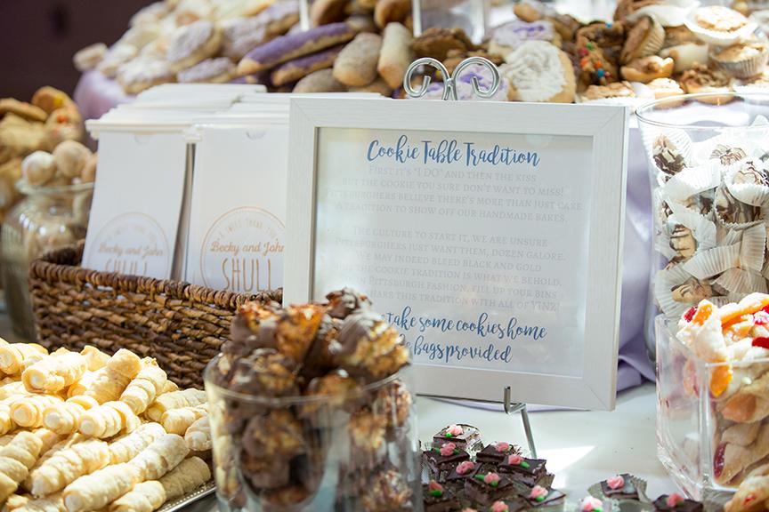 Budget-friendly Wedding Desserts - Cookie bar