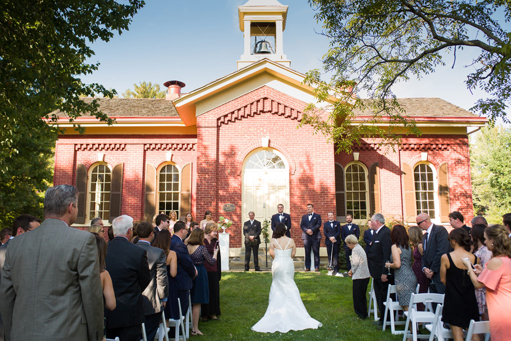 Little Red Schoolhouse - Wedding Ceremony
