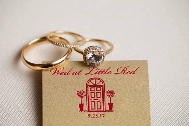 Little Red Schoolhouse - Wedding Rings