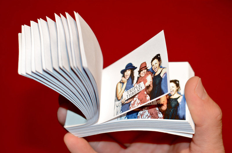 Unique Photo Booth - Flip Books
