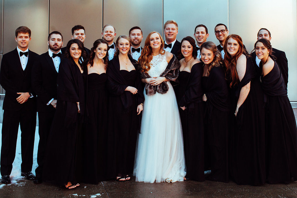 Indianapolis Bridal Party - Mavris Wedding