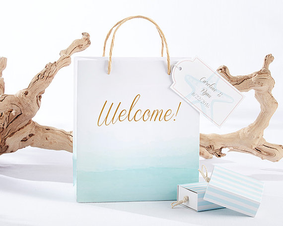 wedding welcome bag - event planners