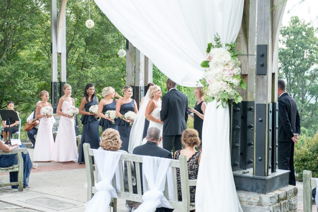 Alms Park Wedding - Pergola