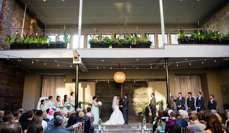 Ashley & Blake's Hotel Covington Wedding