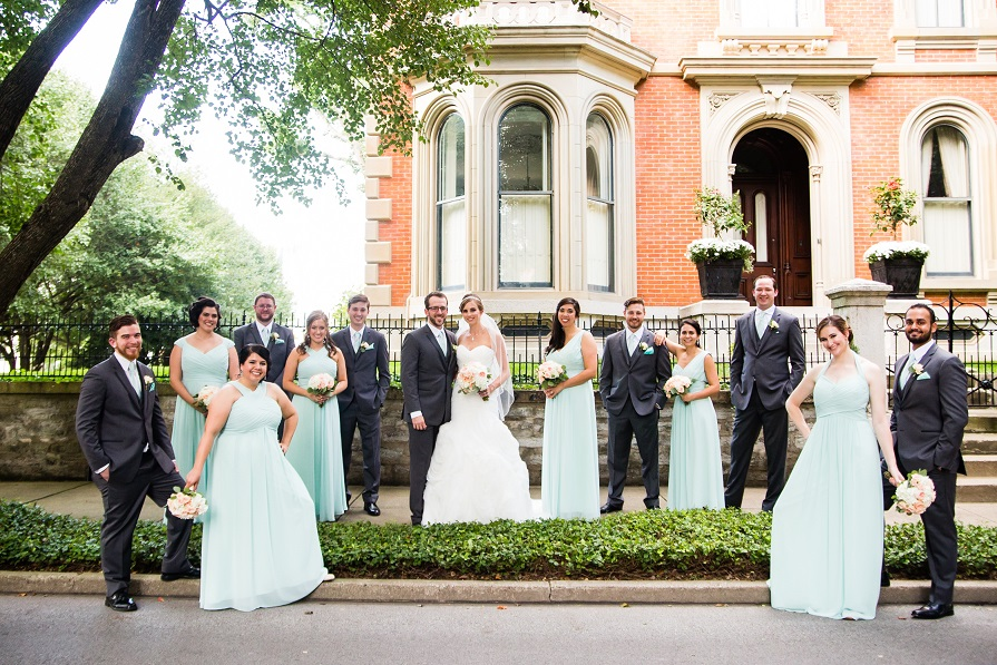 Hotel Covington Wedding - Bridal Party