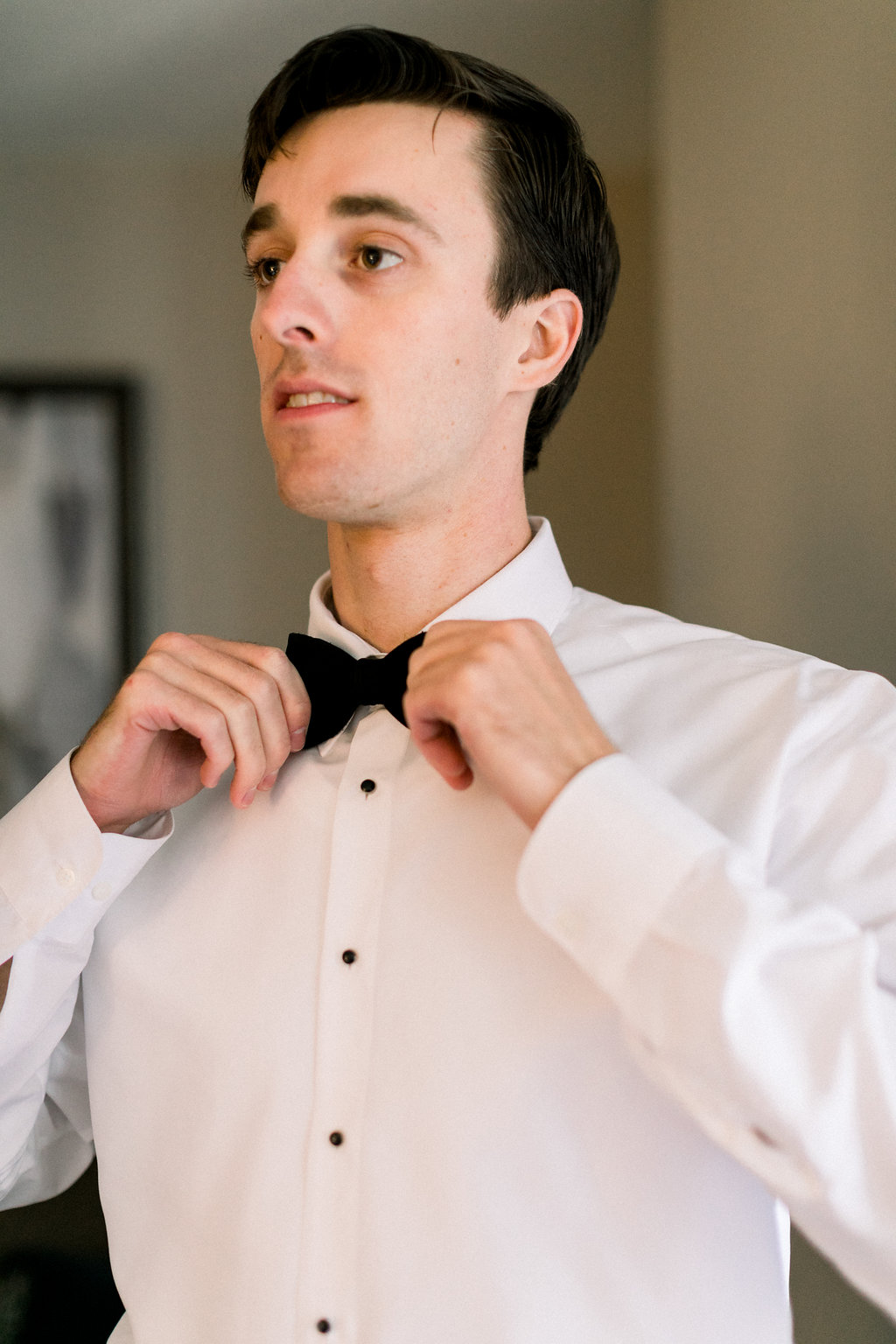 Ault Park Wedding - Groom