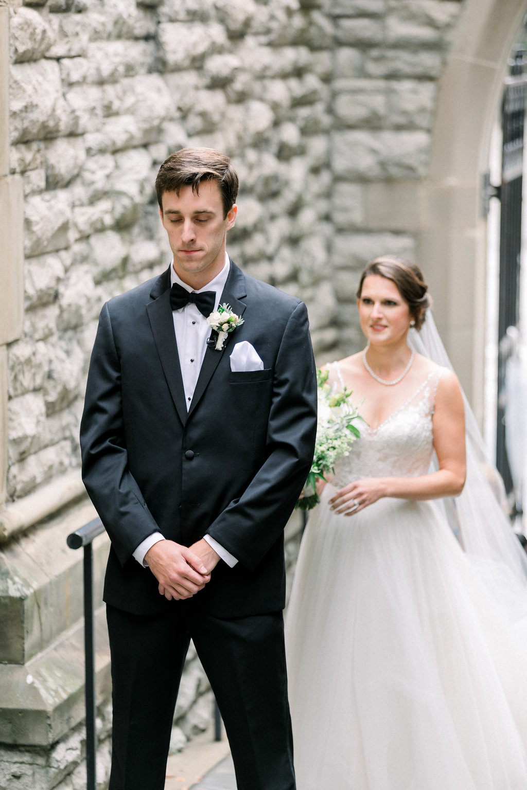 Ault Park Wedding - First Look