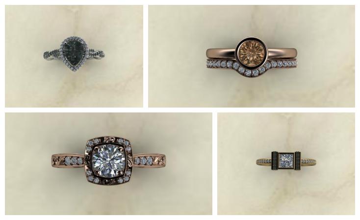 Engagement Rings - Honey Designs