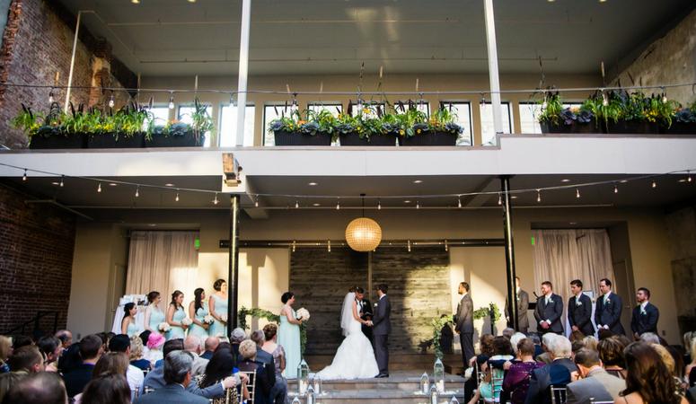 Hotel Covington Wedding