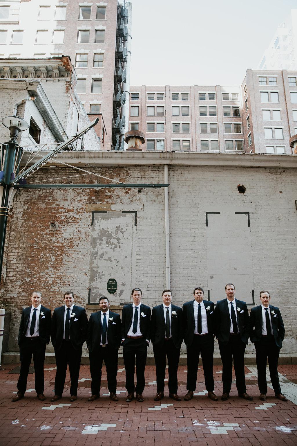 The Phoenix Cincinnati Wedding - Groomsmen