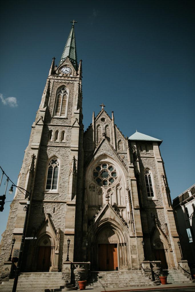 The Phoenix Cincinnati Wedding - St. Francis de Sales