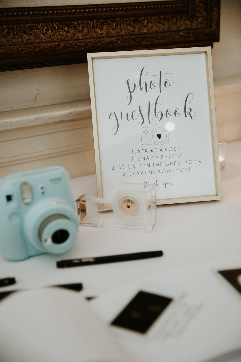 The Phoenix Cincinnati Wedding - Guest Book