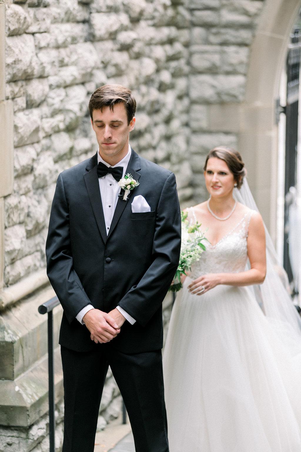 Ault Park Wedding - First Look